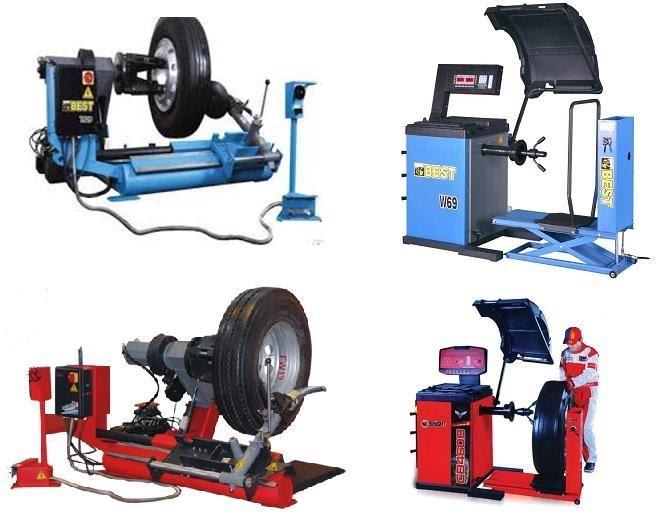 Какое оборудование необходимо для оснащения шиномонтажа
