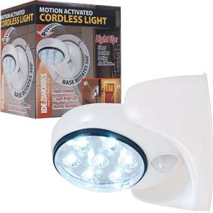Светильники на батарейках с датчиками движения для квартир, домов, подъездов и улиц