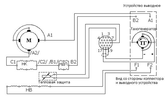 Электродвигатель постоянного тока: схема подключения, принцип работы